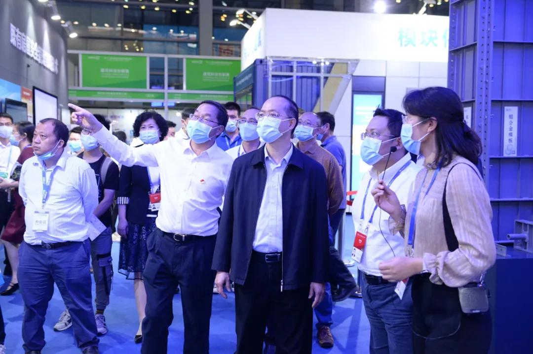 2020年建筑科技创新展精彩回顾:深圳市委郑柯副书记巡馆